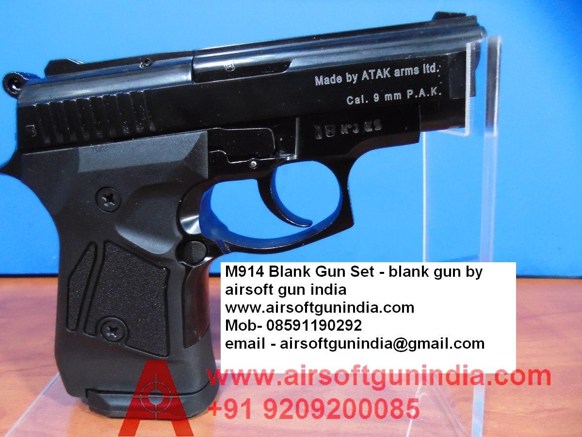 Zoraki M914 Front Firing Blank Gun By Airsoft Gun India