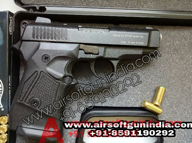 Zoraki M2914 Black Finish 9mm Front Firing Blank Gun By Airsoft Gun India
