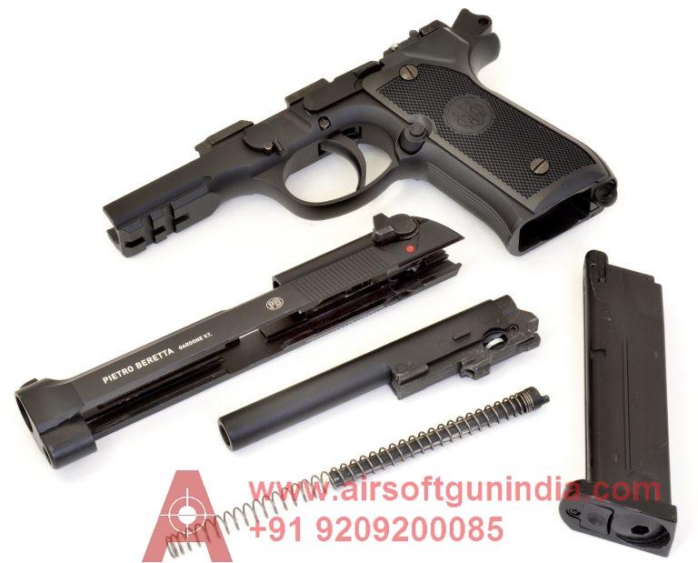 Umarex Beretta M92A1 CO2 Full Metal BB Pistol By Airsoft Gun India