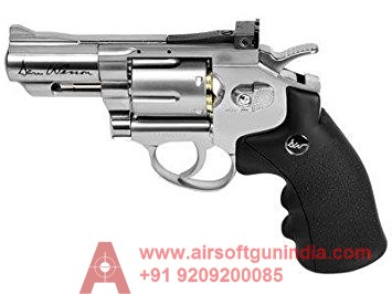 Dan Wesson 2.5 Inch  CO2 BB Revolver, Silver
