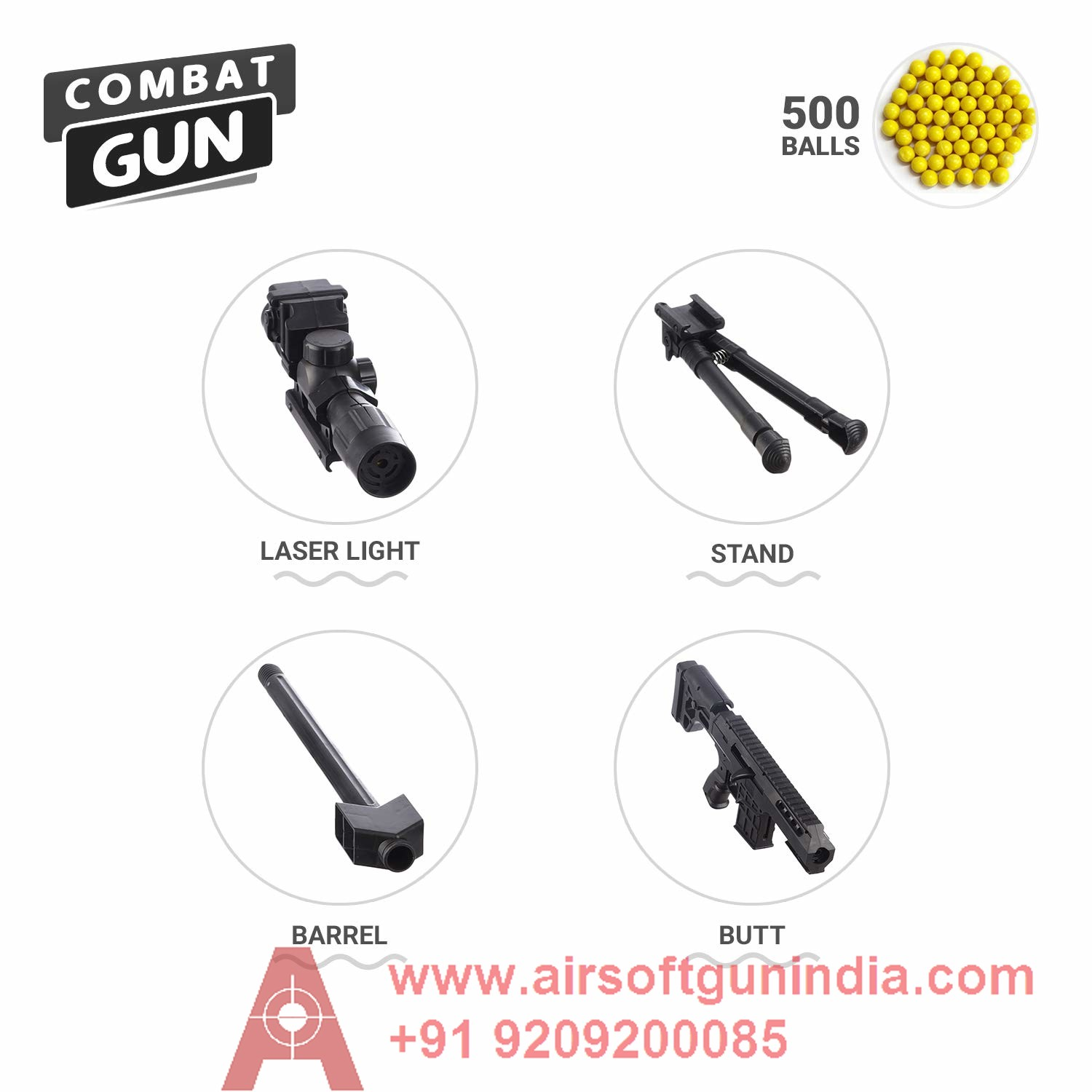 Toy Sniper Rifle By Airsoft Gun India