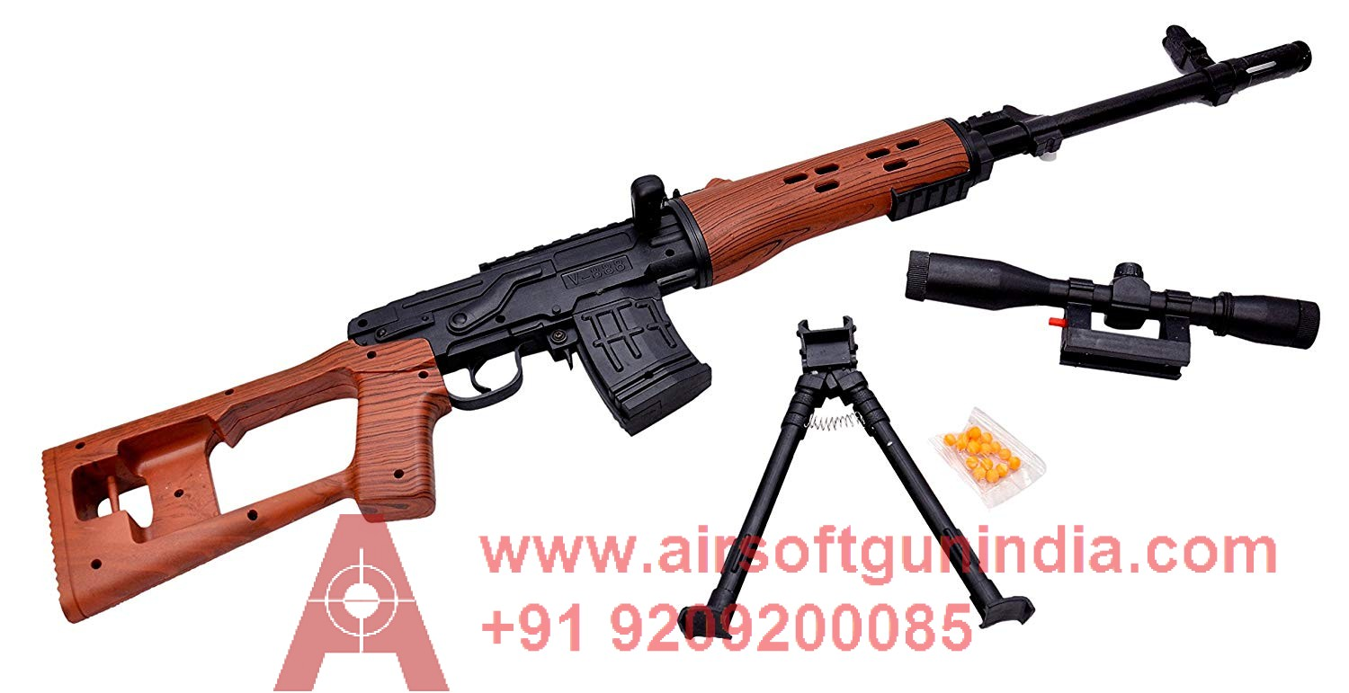 DRAGUNOV SNIPER SPRING AIRSOFT BY AIRSOFT GUN INDIA  P361