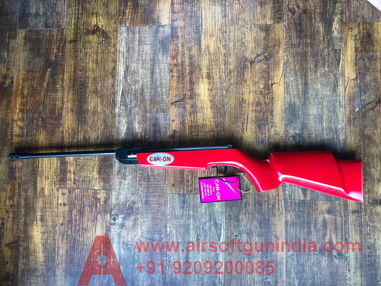 Canon Air Rifle .177 For Shooting Red  Color Air Rifle In India
