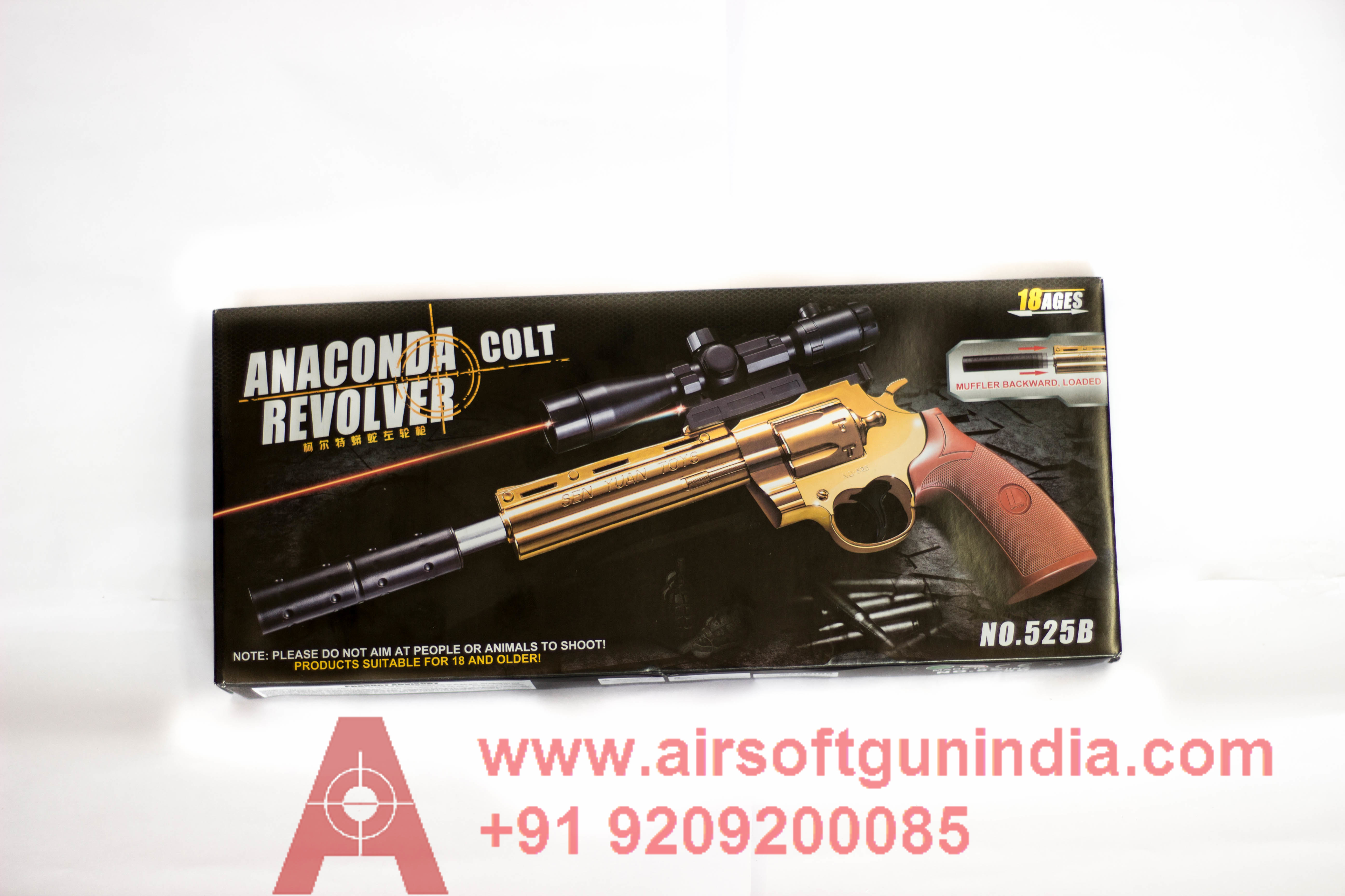 Anaconda Colt Revolver 525B By Airsoft Gun India