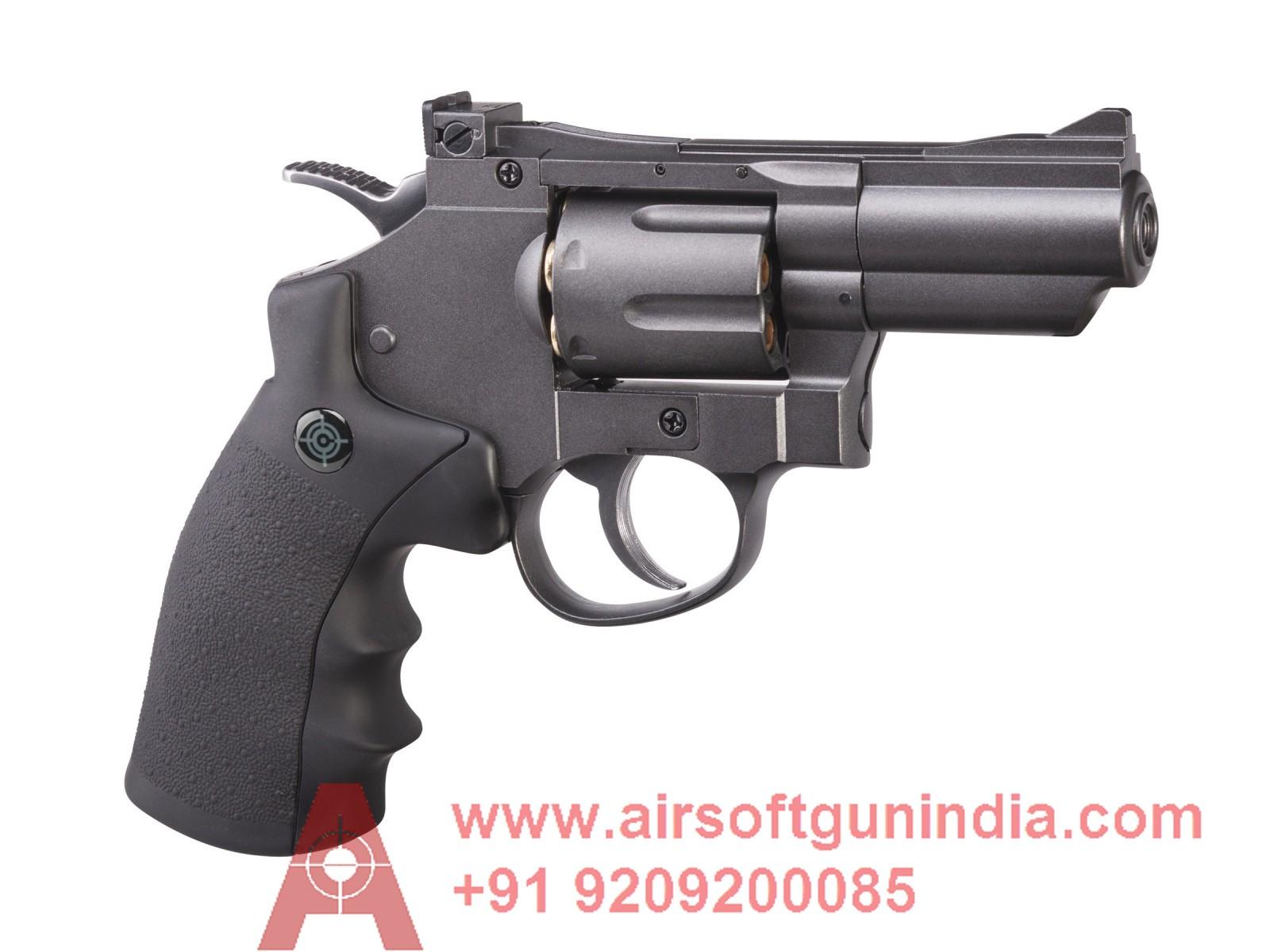 Crosman SNR357 CO2 Dual Ammo Full Metal Revolver By Airsoft Gun India