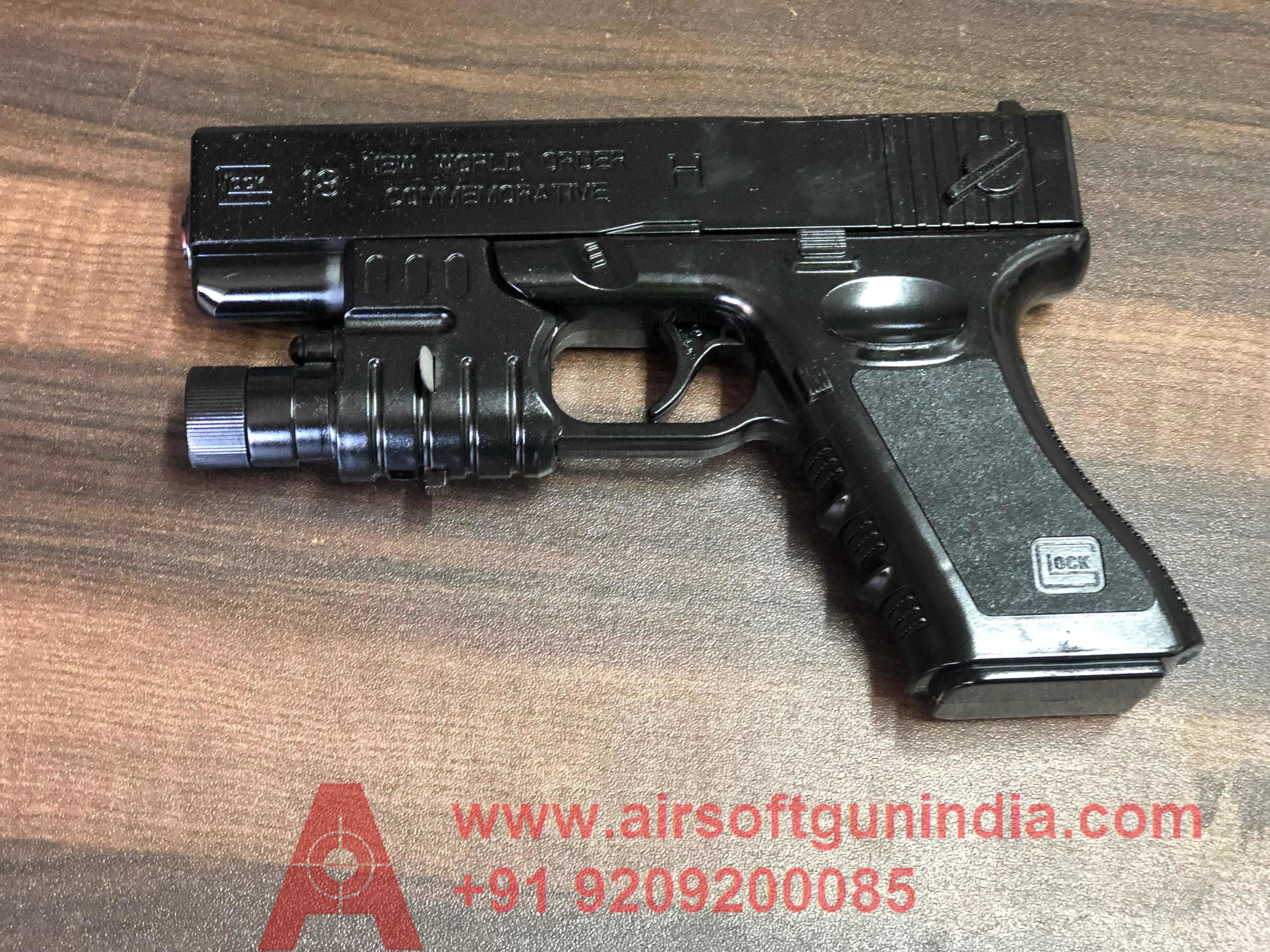 Glock 17 Spring Airsoft Pistol By Airsoft Gun India