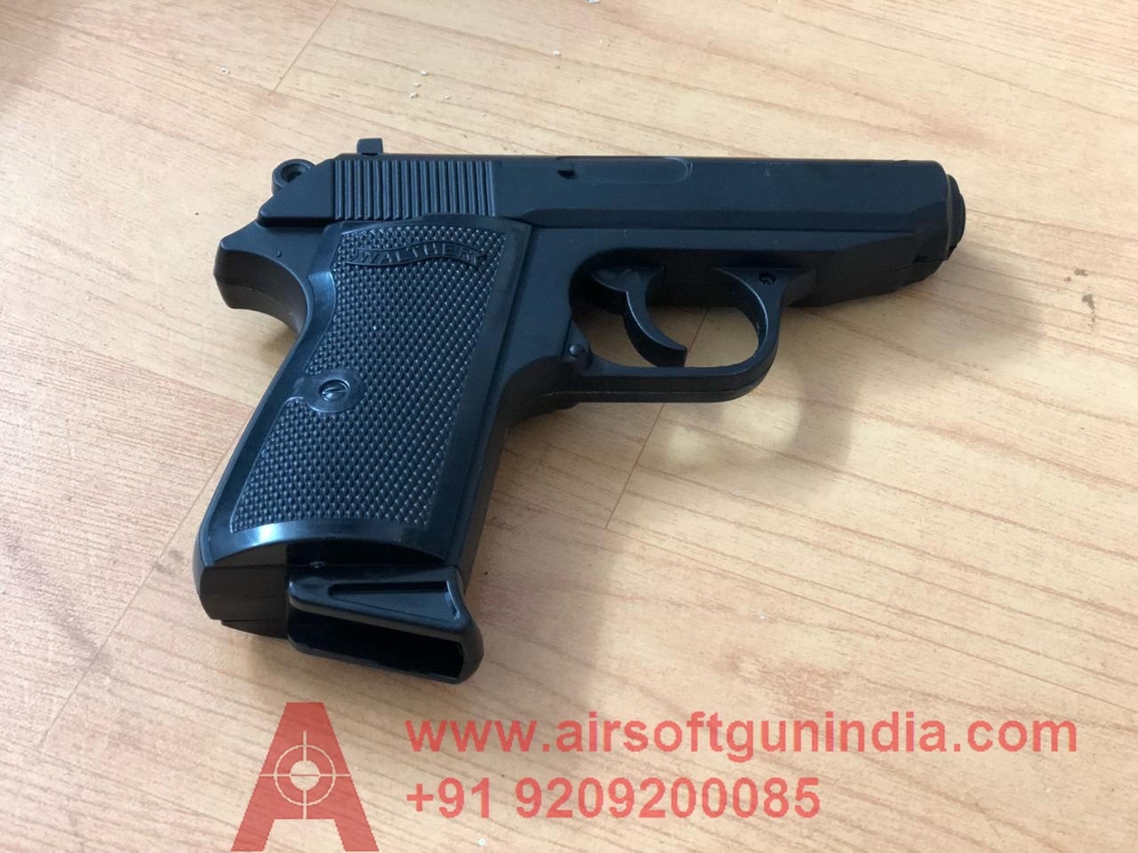 Walther Ppk 9mm Black Cigarette Lighter By Airsoft Gun India