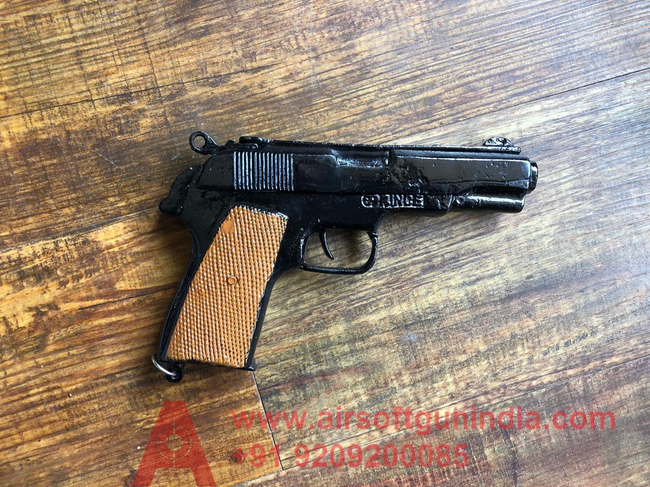 CORK GUN BERETTA STYLE BROWN  BY AIRSOFT GUN INDIA ( SOUND GUN ) FOR CROP PROTECTION