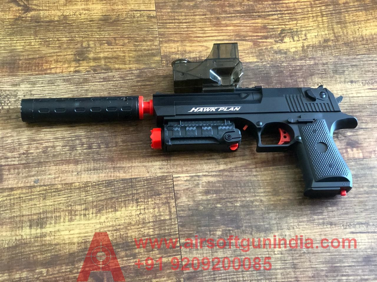 Electric Airsoft Desert Eagle Pistol By Airsoft Gun India