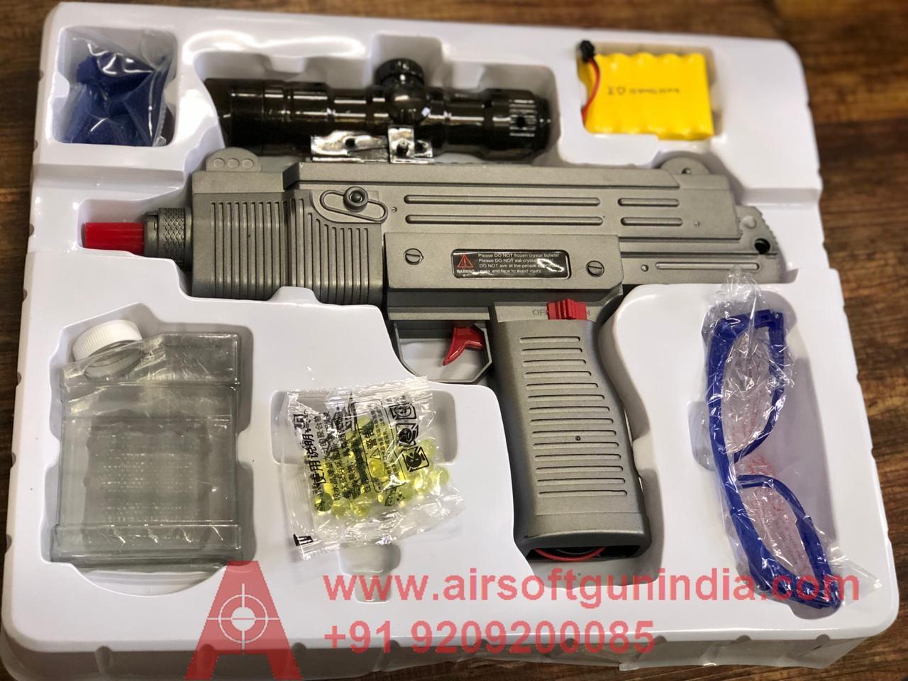 Electric Automatic UZI Gel Blaster Airsoft Gun India