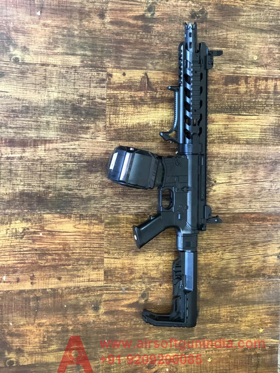 AR15 Automatic Electric Airsoft Rifle   By Airsoft Gun India
