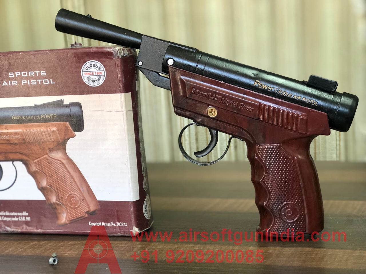 Power Sports Air Pistol By Airsoft Gun India Rose Texture