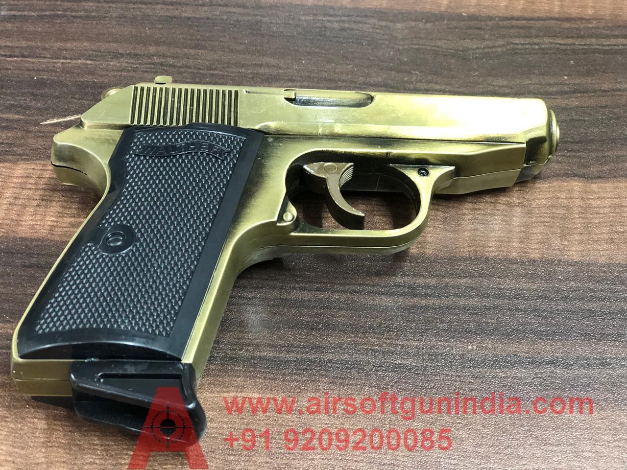 Walther Ppk Lighter Golden  Limited Edition