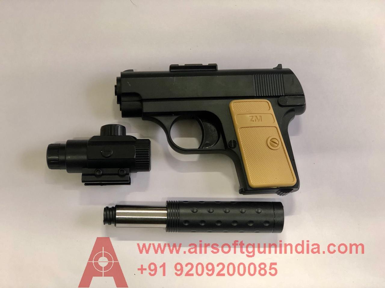 ZM Mini Airsoft Pistol By Airsoft Gun India