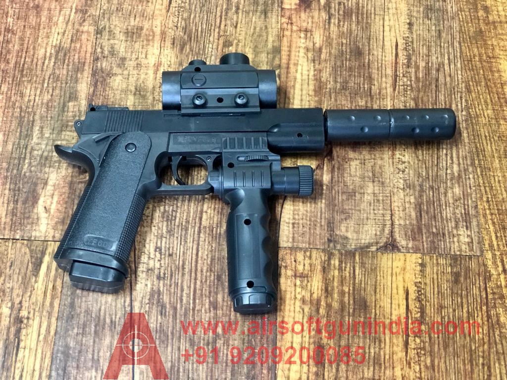 1911 Tactical Spring Airsoft Pistol By Airsoft Gun India