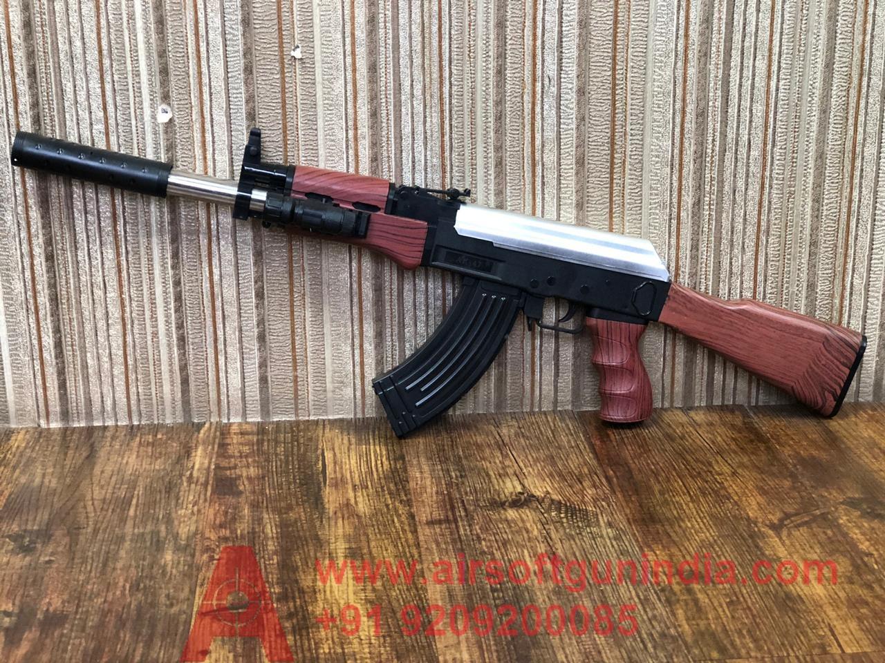 Ak47 Airsoft Rifle 999 By Airsoft Gun India