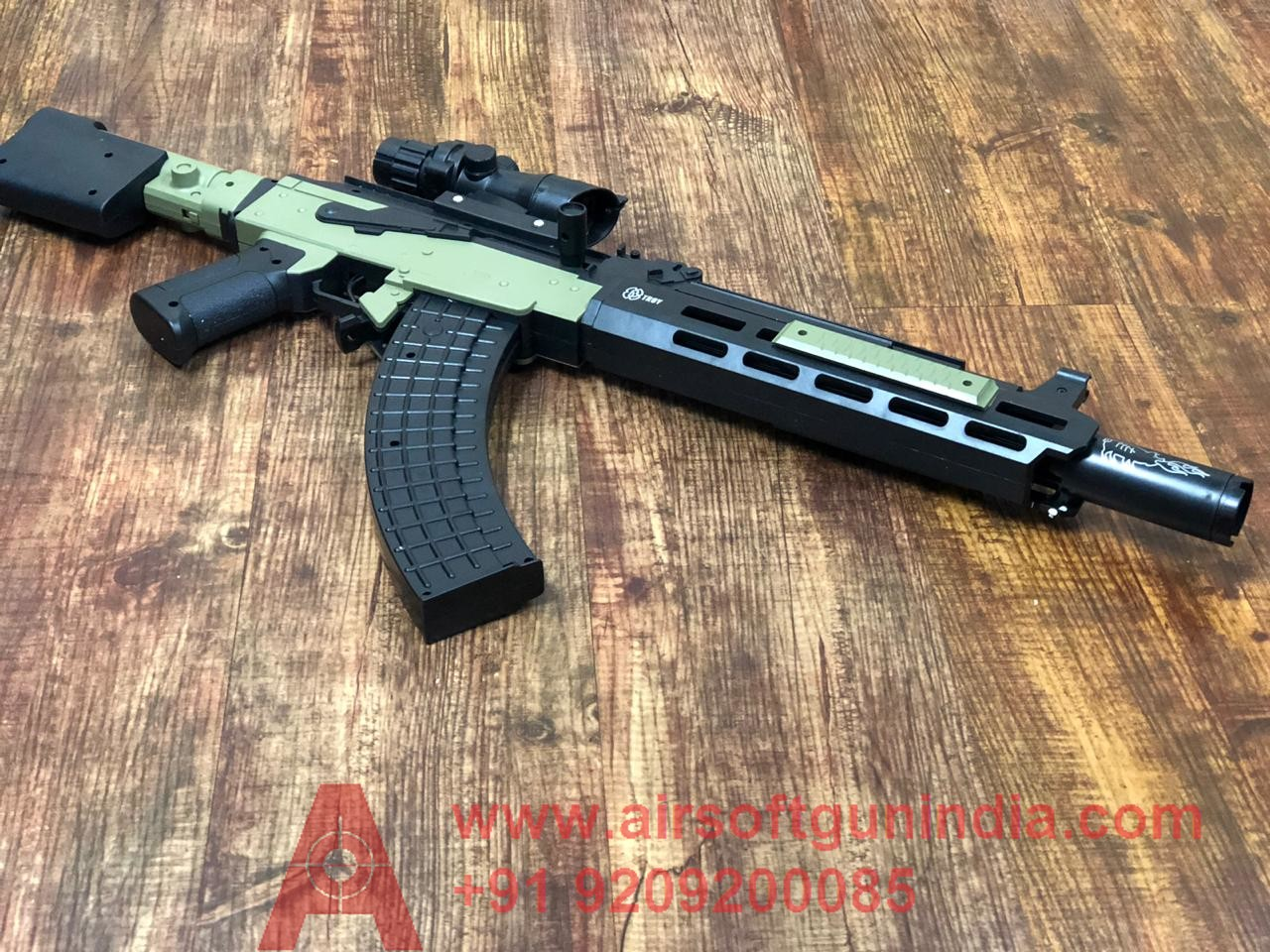 Troy Pubg Ak47 NOVESKE KX#5-01560 BY Airsoft Gun India