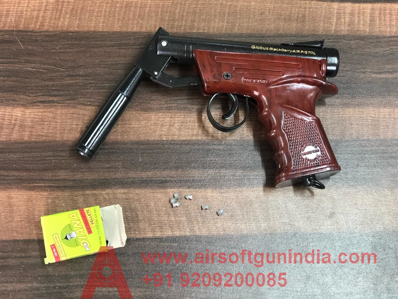 GLOBUS Air Pistol Rose Texture By Airsoft Gun India