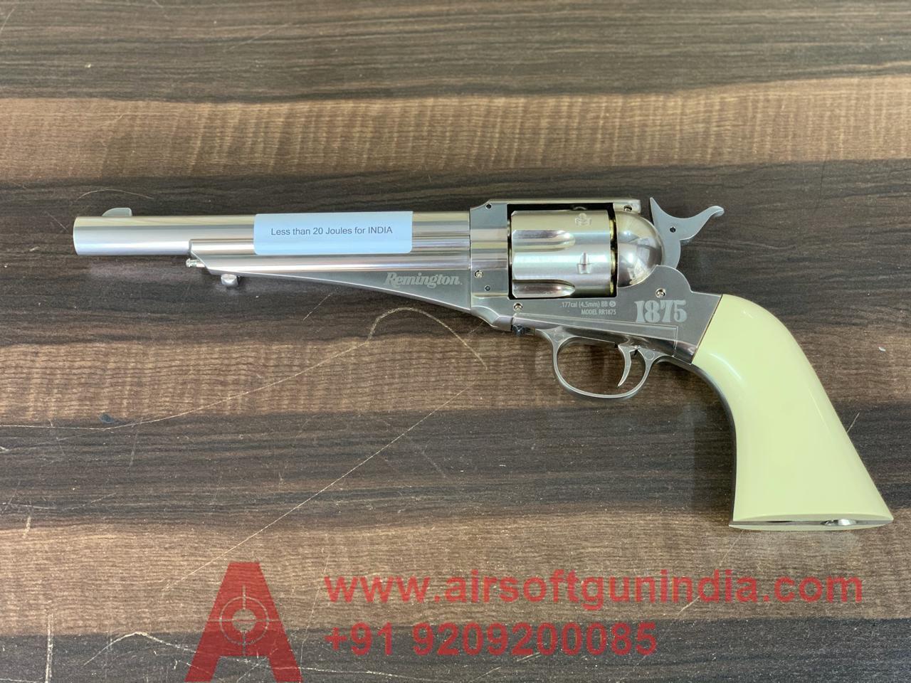 Remington 1875 CO2 Dual Ammo Co2 Revolver By Airsoft Gun India