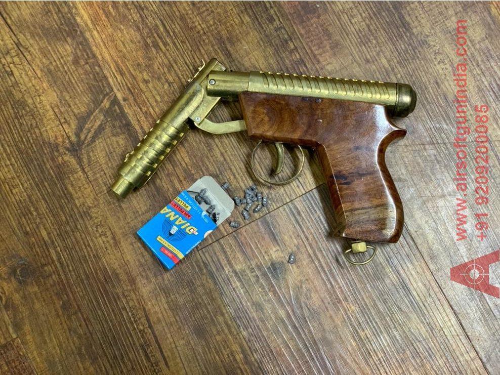 Eagle Master Mark 1 Golden  Air Pistol By Airsoft Gun India