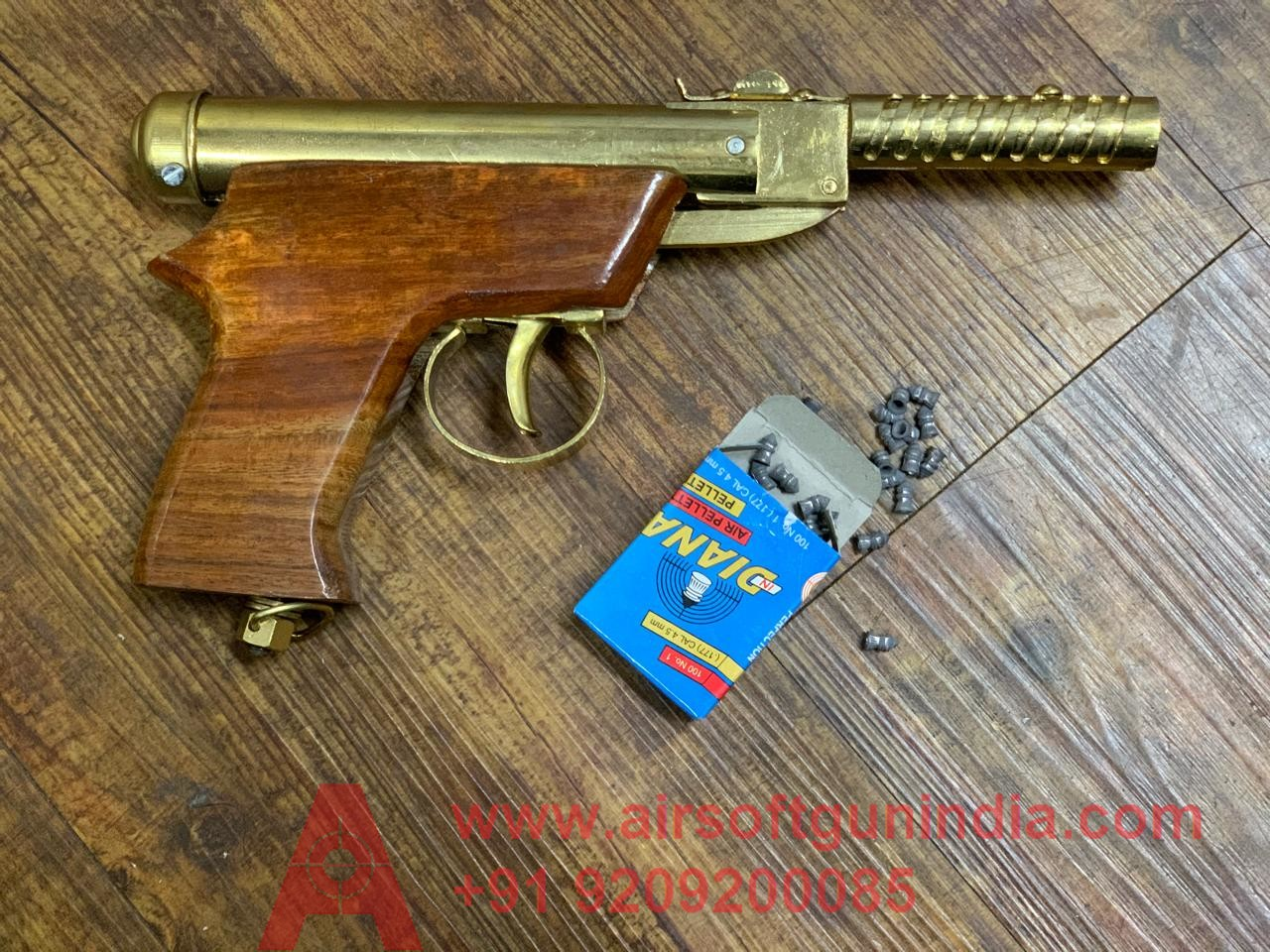 Prince Golden  Air Pistol By Airsoft Gun India