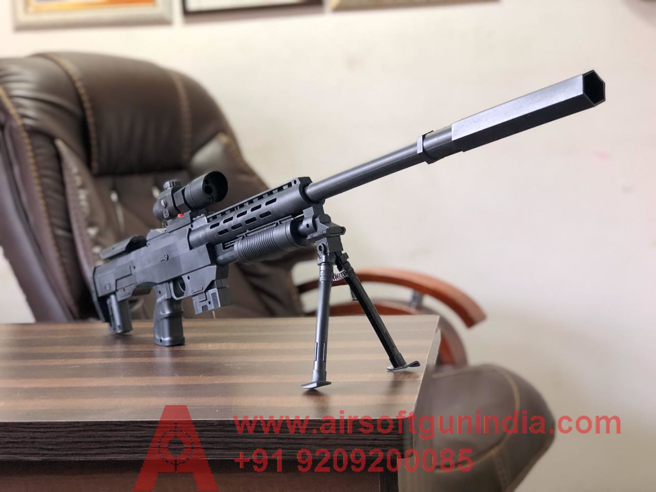 TS12 Airsoft Sniper Rifle By Airsoft Gun India