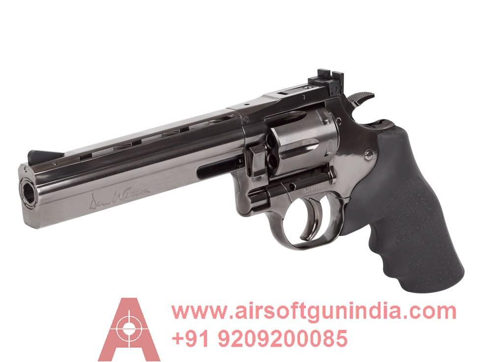 Dan Wesson 715 6 Inch Pellet Revolver, Steel Grey BY Airsoft Gun India