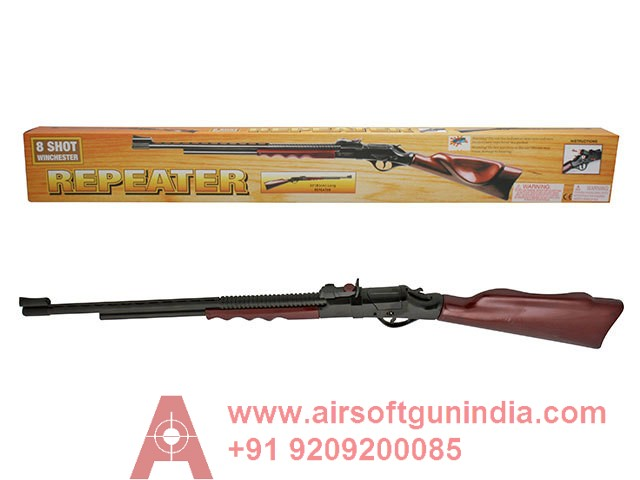 WINCHESTER 8 SHOT REPEATER CAP GUN BY AIRSOFT GUN INDIA