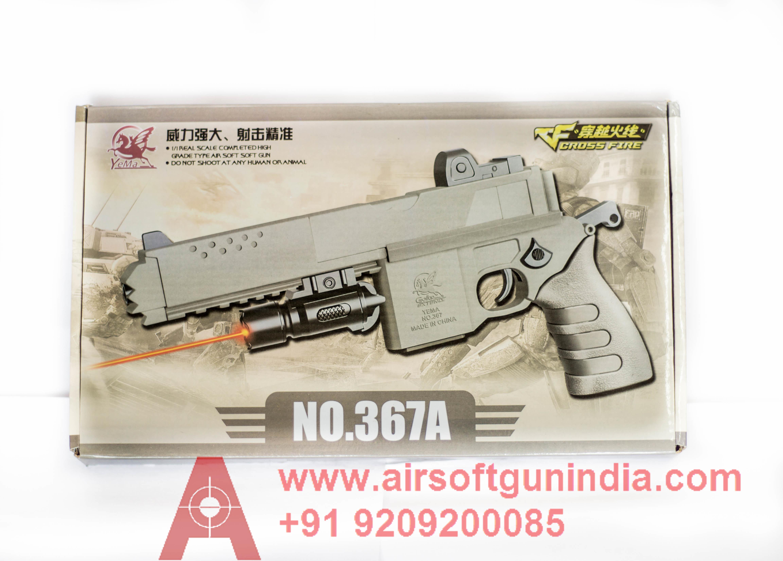 V Cross Fire 367A Hybrid Pistol By Airsoft Gun India