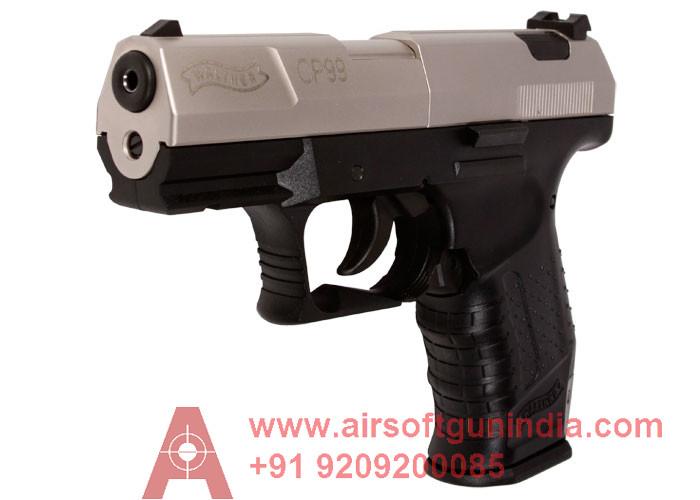 Walther CP99 CO2 Gun Nickel Slide By Airsoft Gun India