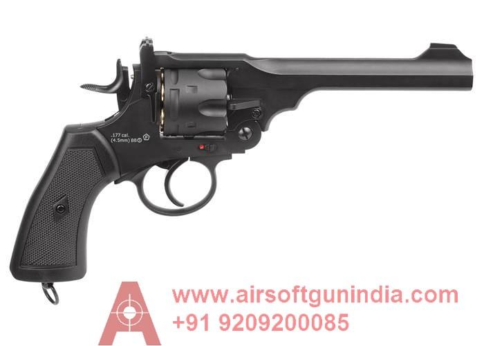 Webley Mark VI CO2 BB REVOLVER  By Airsoft Gun India
