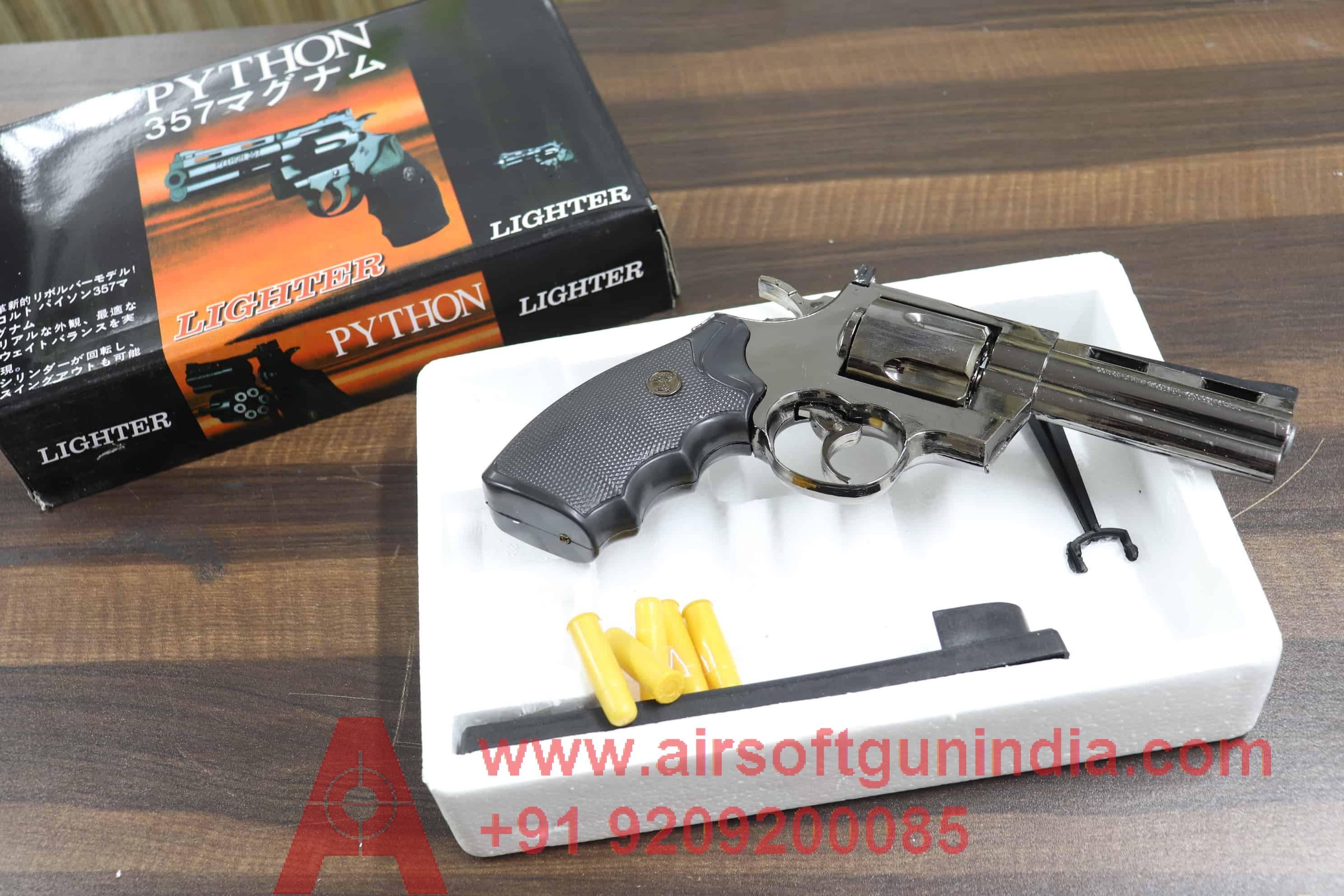 Python 357 Cigarette Lighter Replica Gun By Air Soft Gun India