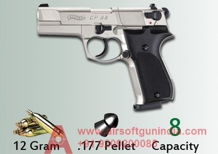 Walther CP88, Nickel Co2 Pistol By Airsoft Gun India
