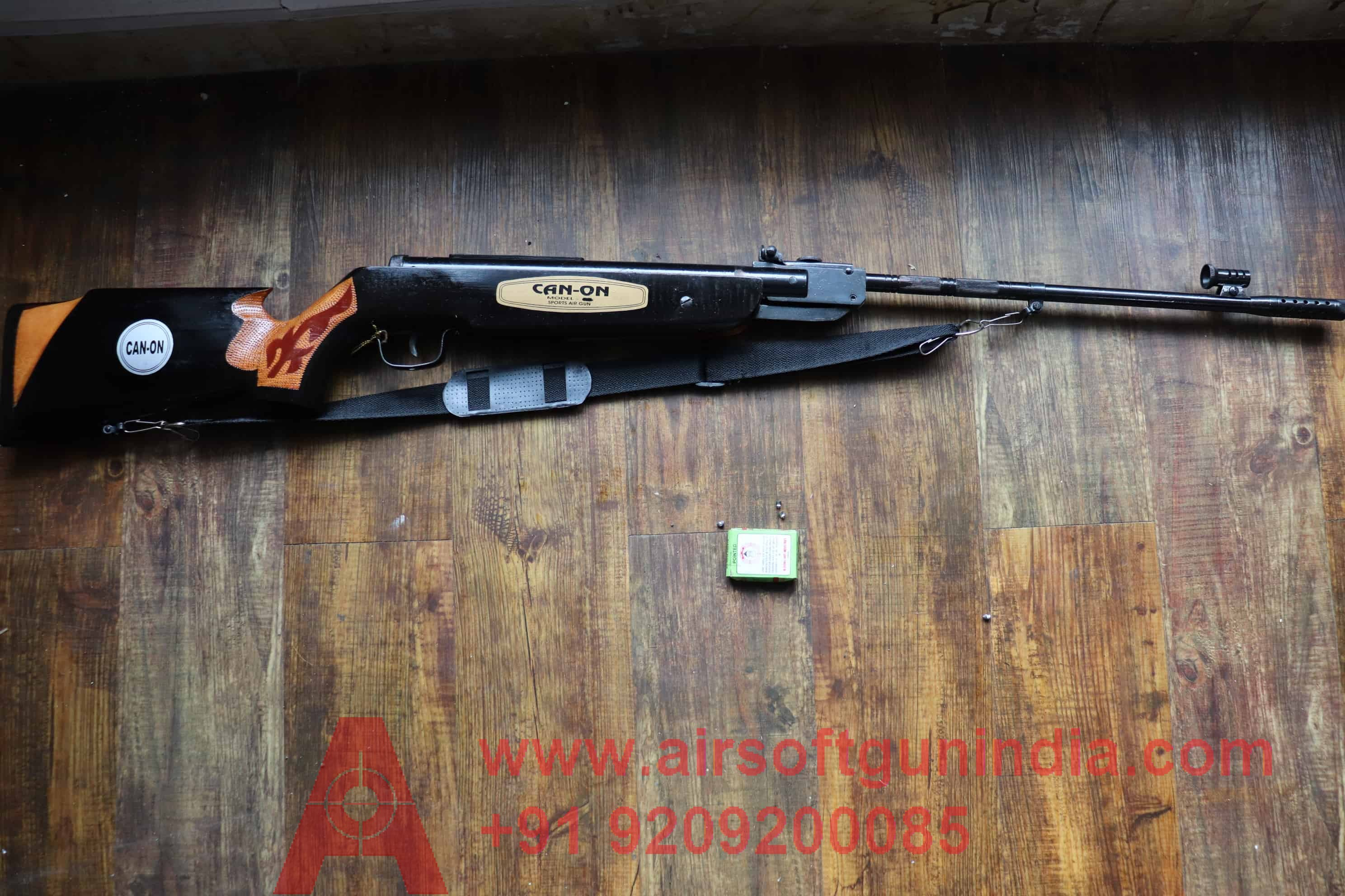 65 SPORTS AIR RIFLE And BATMAN THUNDER PISTOL COMBO BY AIRSOFT GUN INDIA