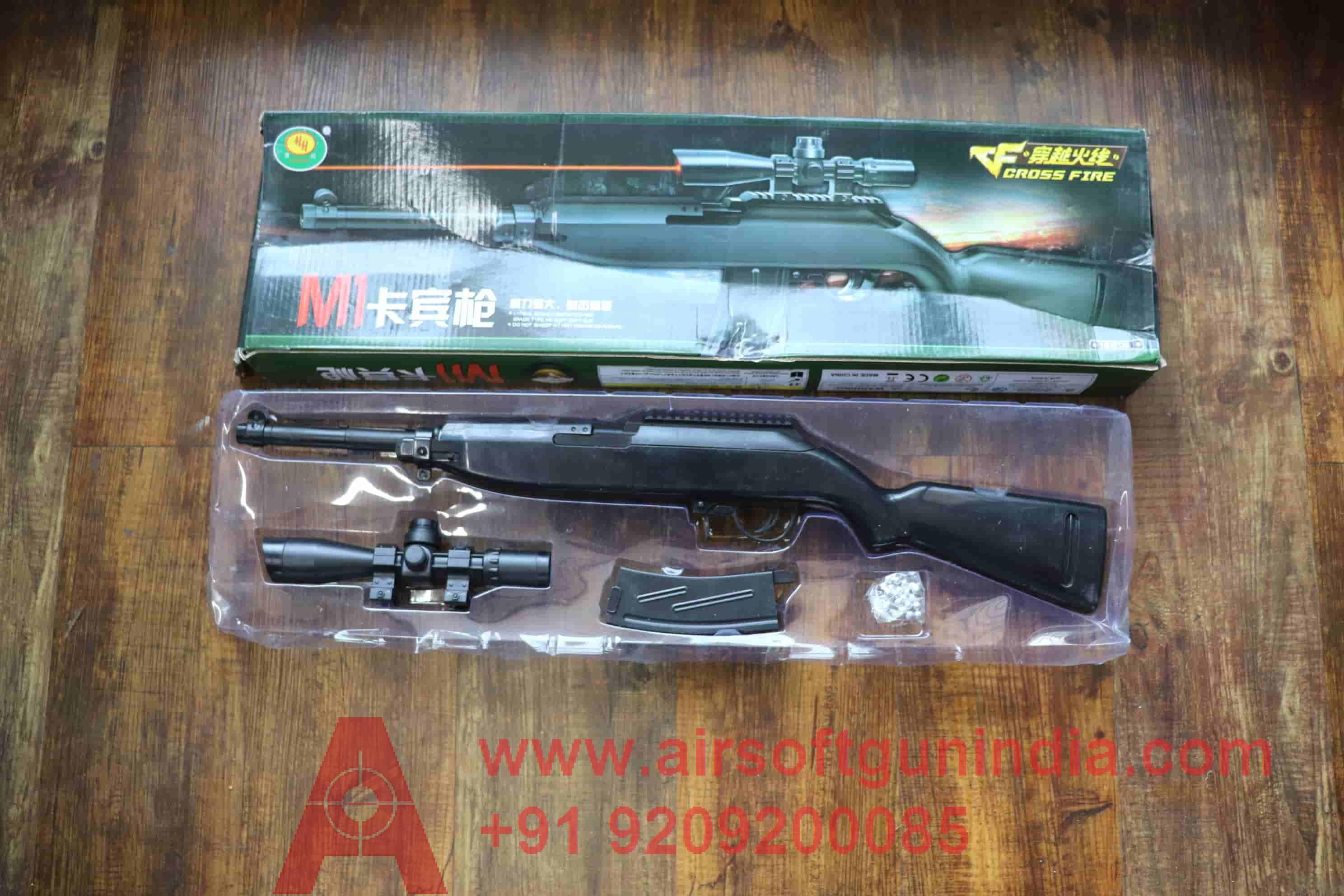 Vcross M1A Airsoft Rifle By Airsoft Gun India