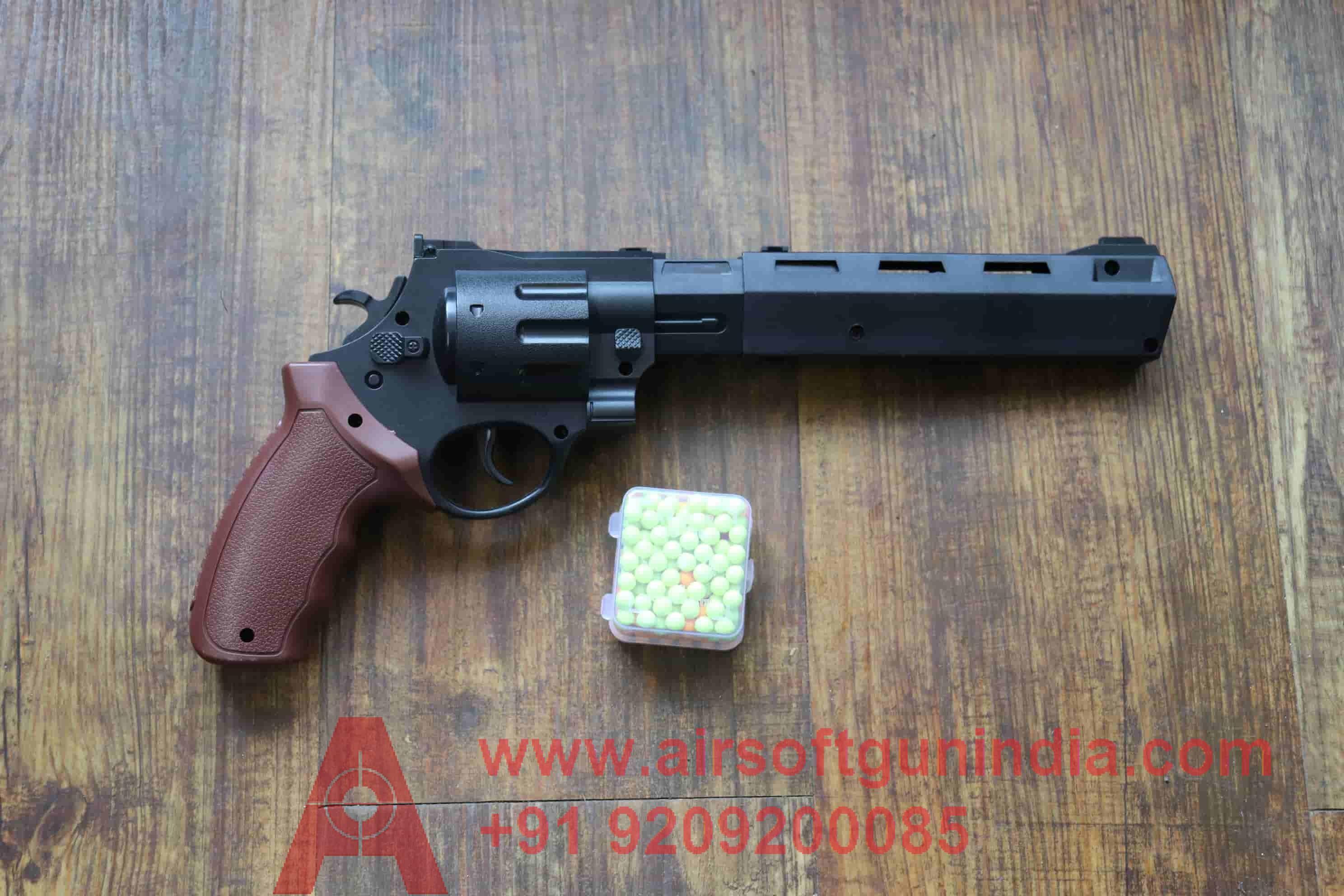 CHEAP Toy Air Soft Revolver   Airsoft Gun India
