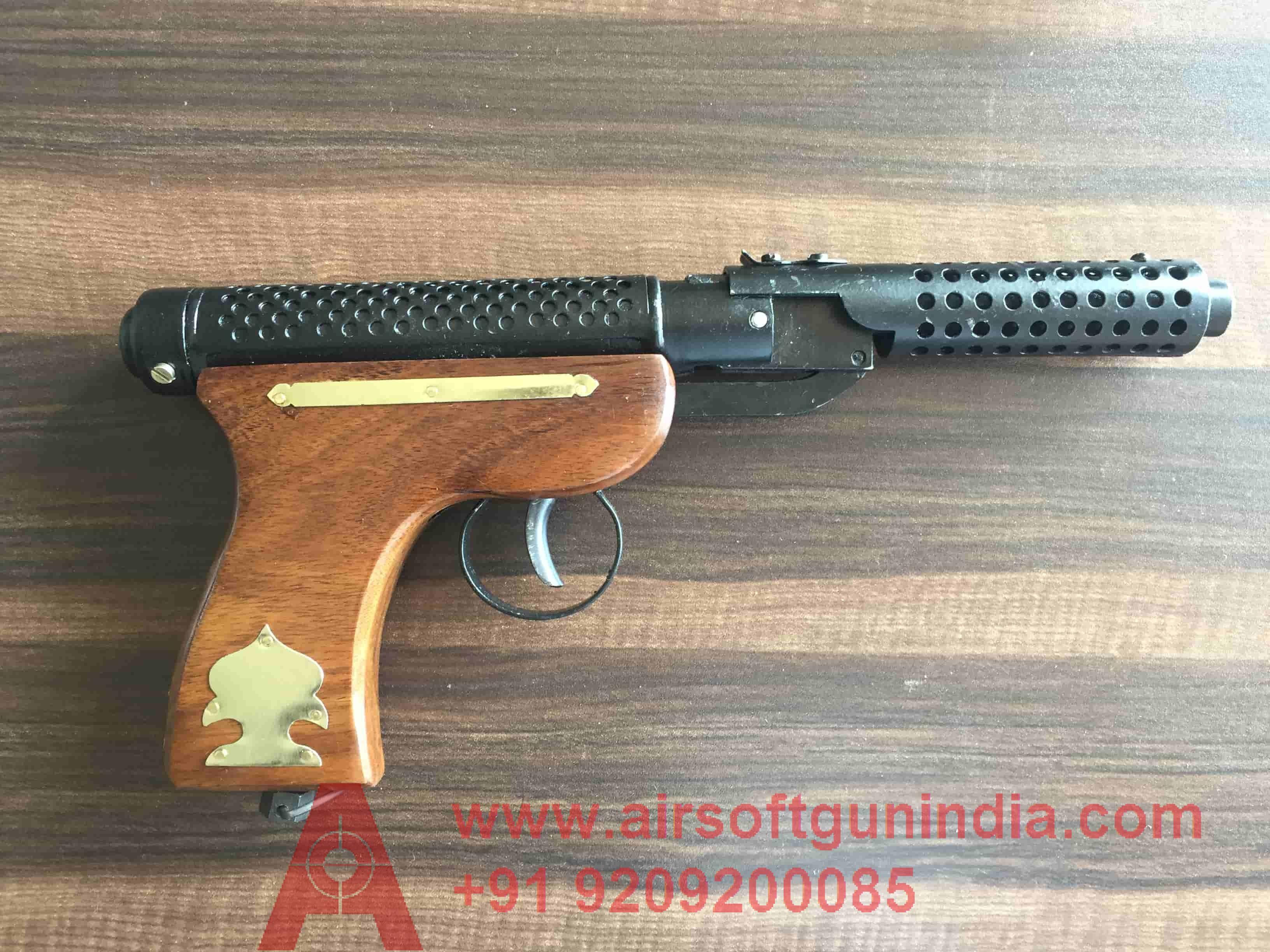 Bullet Mark 2 BM-2 Wooden Handle Air Pistol