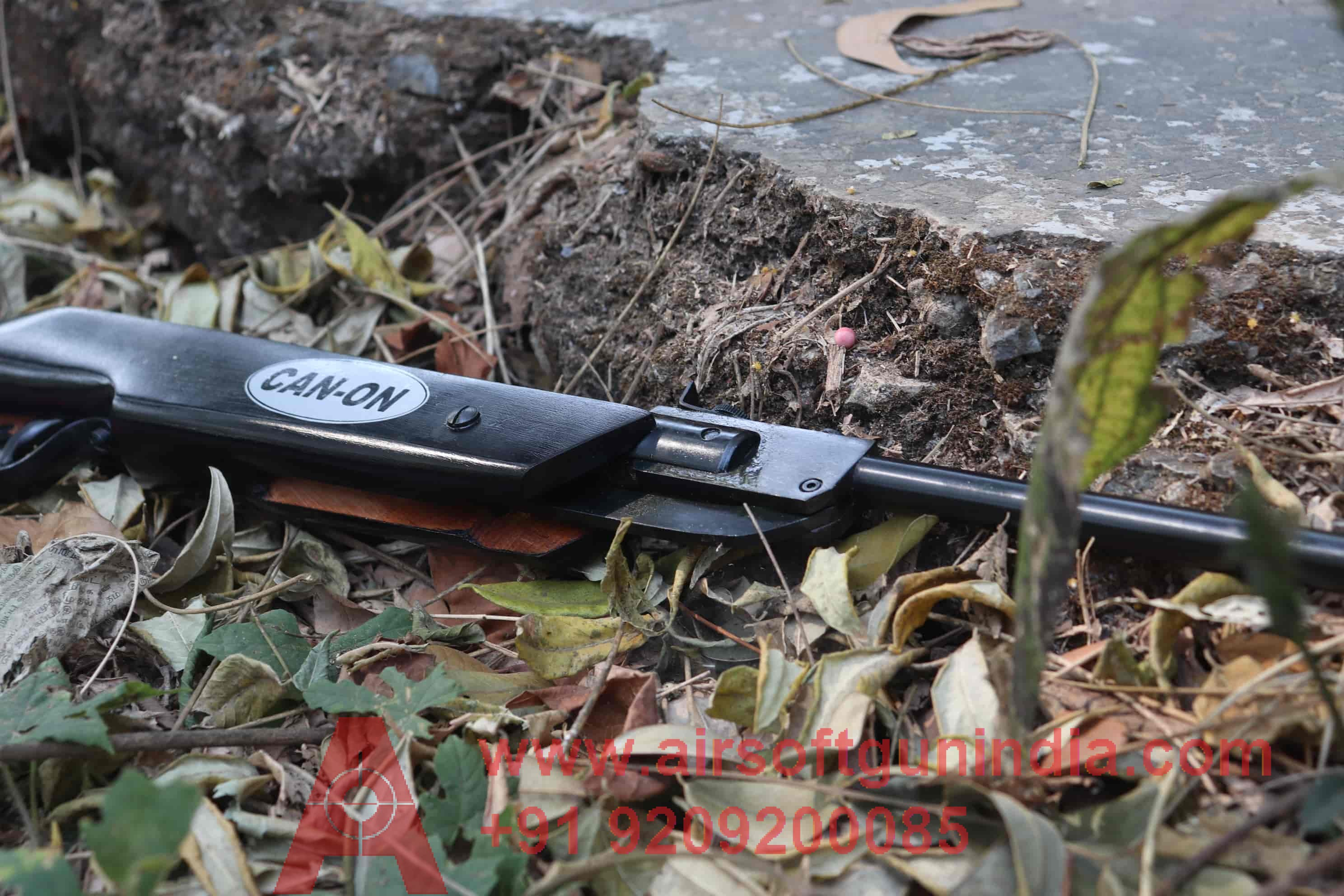 Canon Air Rifle .177 For Shooting Black Color Air Rifle In India