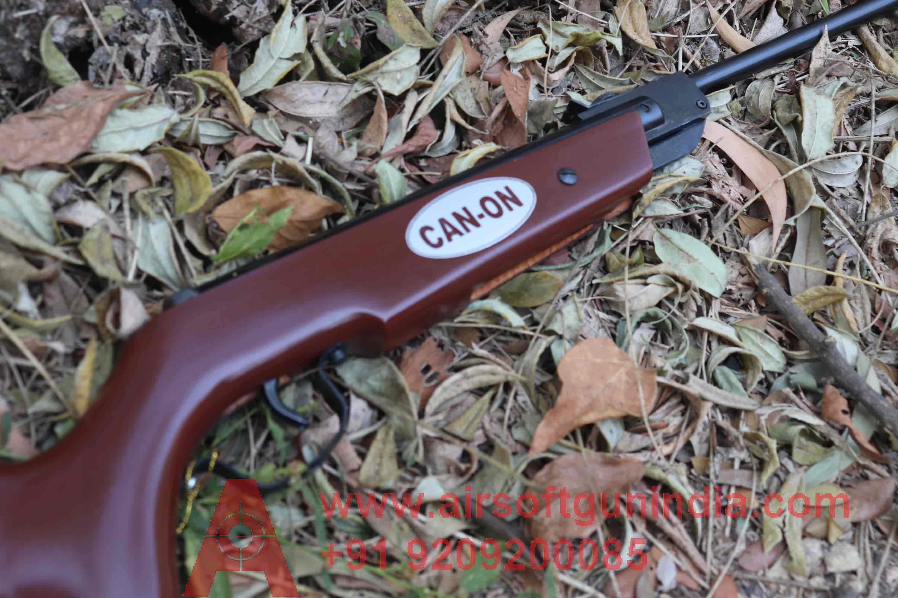 Canon Air Rifle .177 For Shooting Dark Brown Color Air Rifle In India