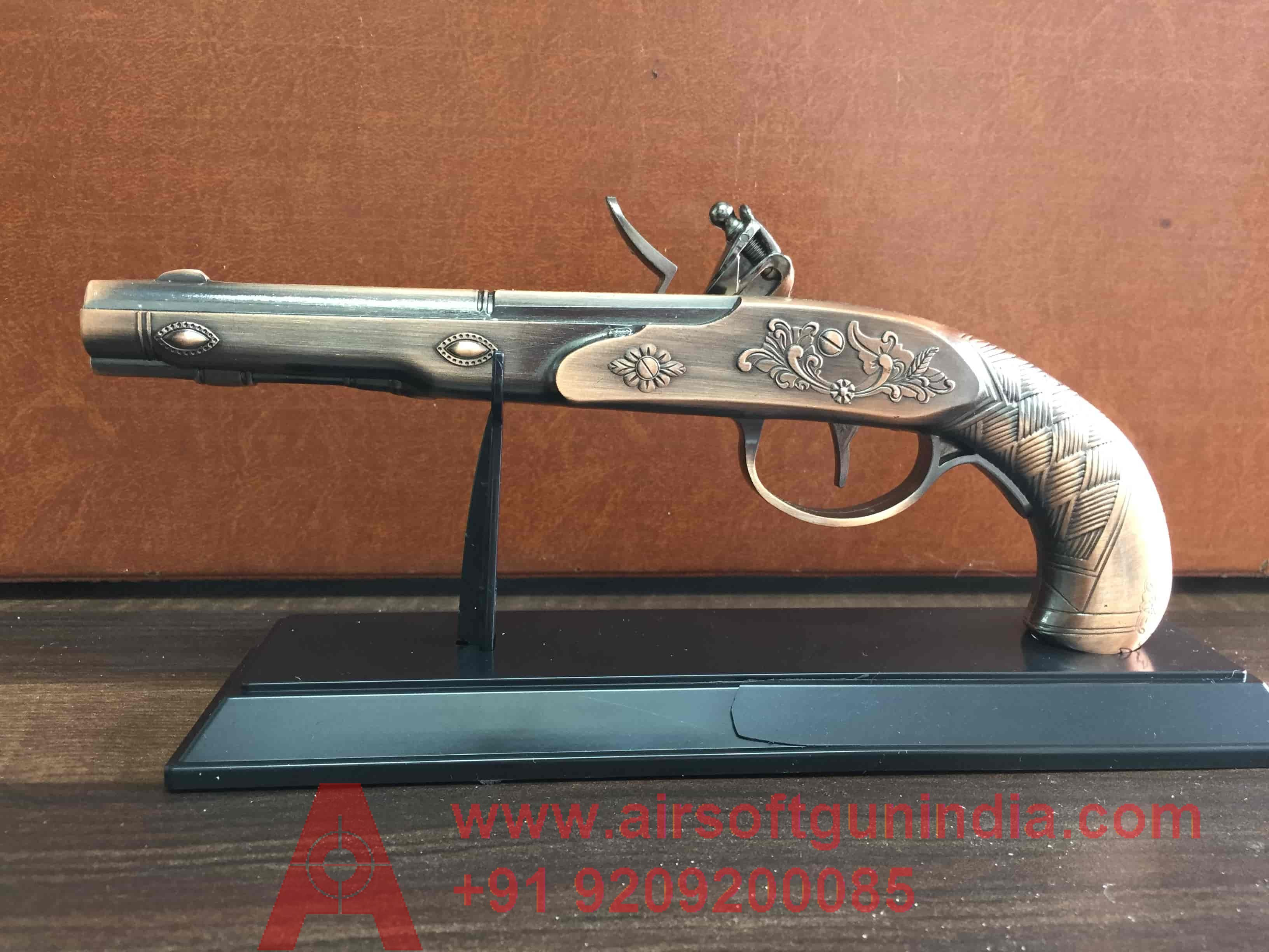 Flintlock Pistol Cigarette Lighter By Airsoft Gun India