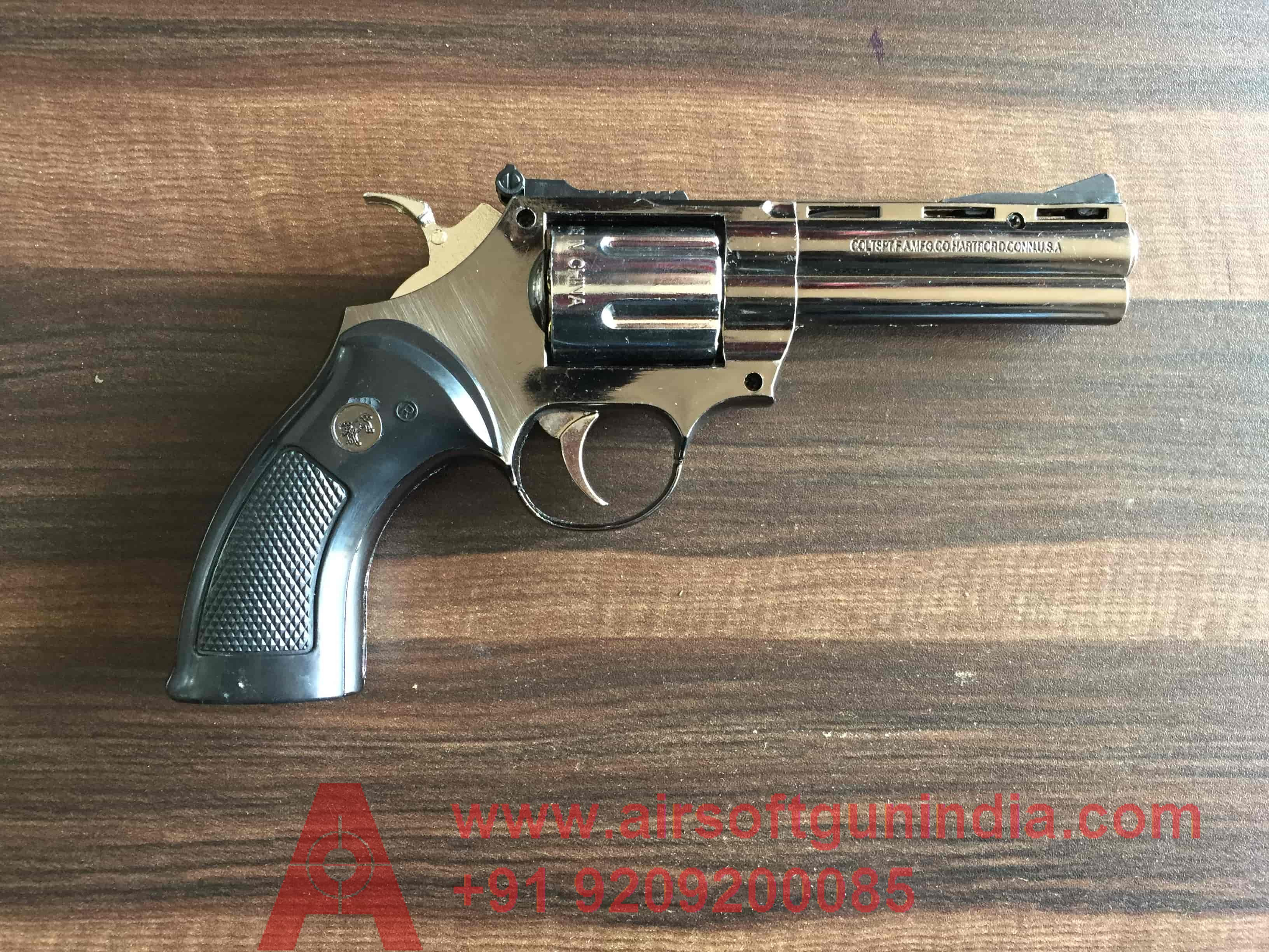 Python 357 Magnum Cigarette Lighter Revolver  In India