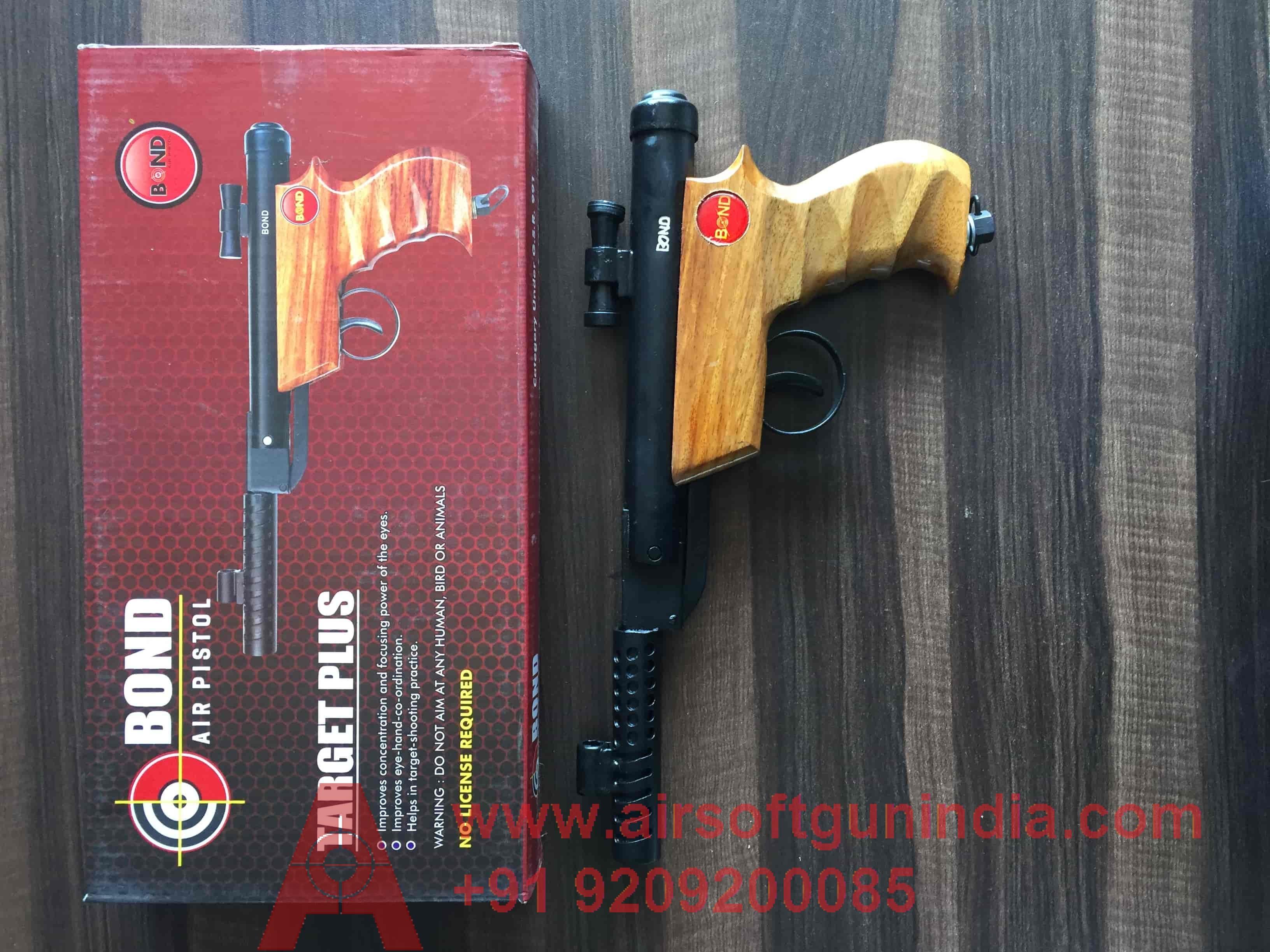 Bond Target Plus  (wooden Handle)  Air Gun In India