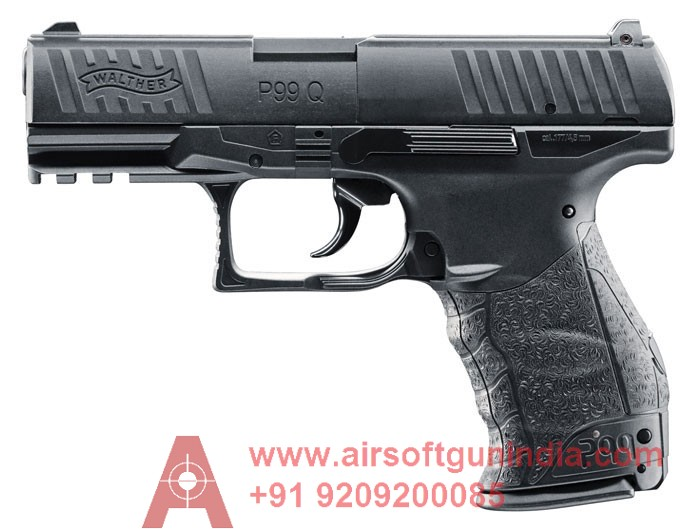 Walther PPQ / P99 Q CO2 AIR PISTOL IN INDIA By Airsoft Gun India