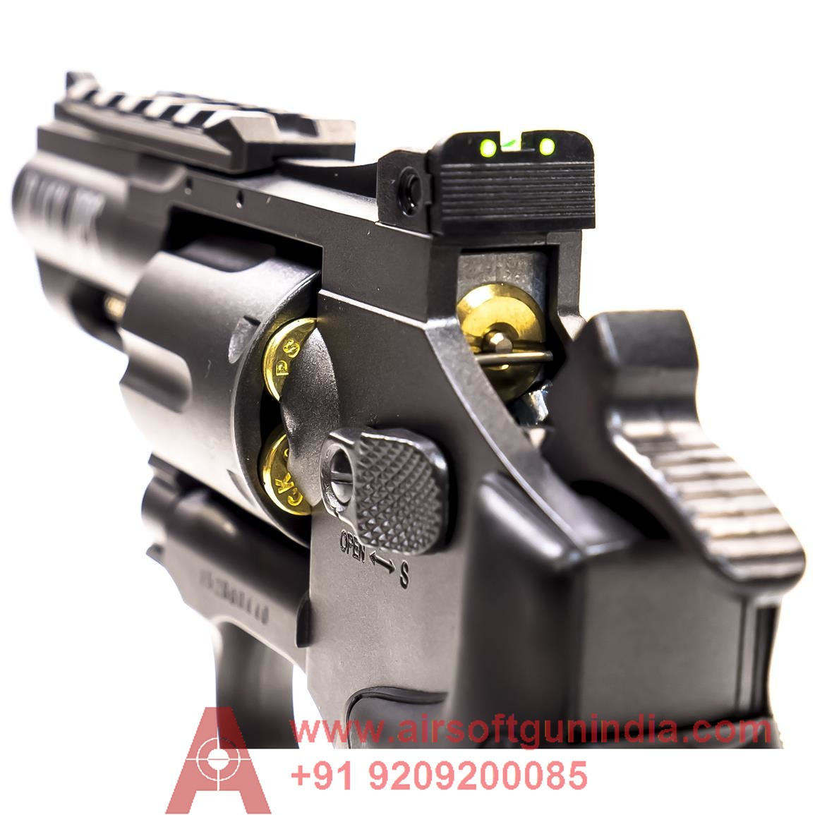 Black Ops Metal Co2 Bb Revolver By Airsoft Gun India