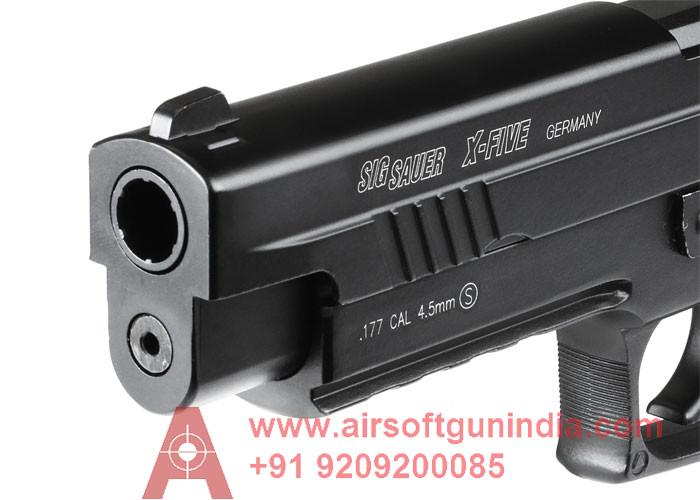 Sig Sauer P226 X-Five Co2 Air Pistol By Airsoft Gun India