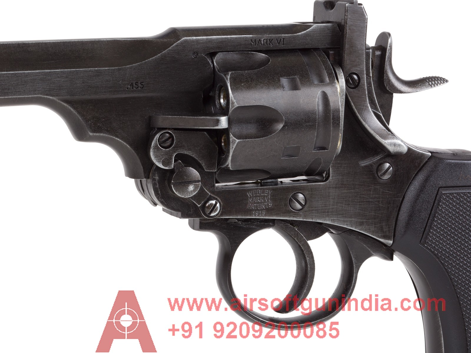 Webley MKVI Co2 Pellet Revolver By Airsoft Gun India
