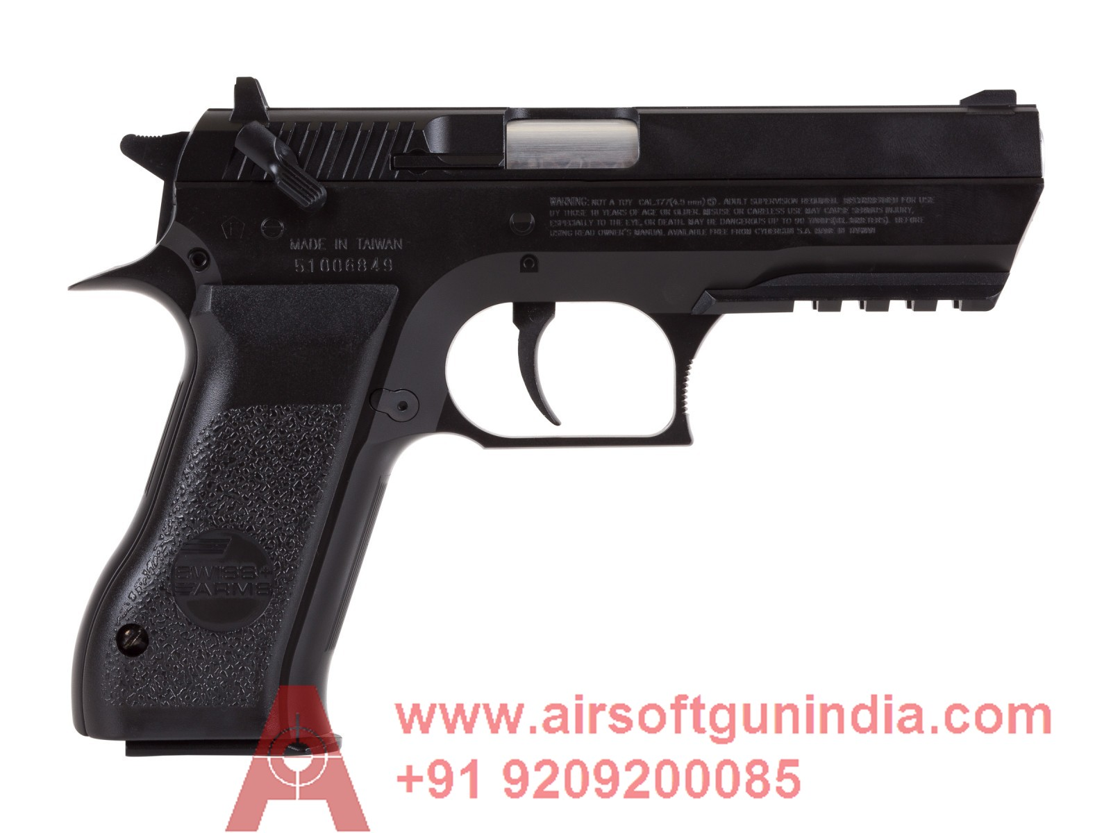 Swiss Arms 941 CO2 Pistol By Airsoft Gun India