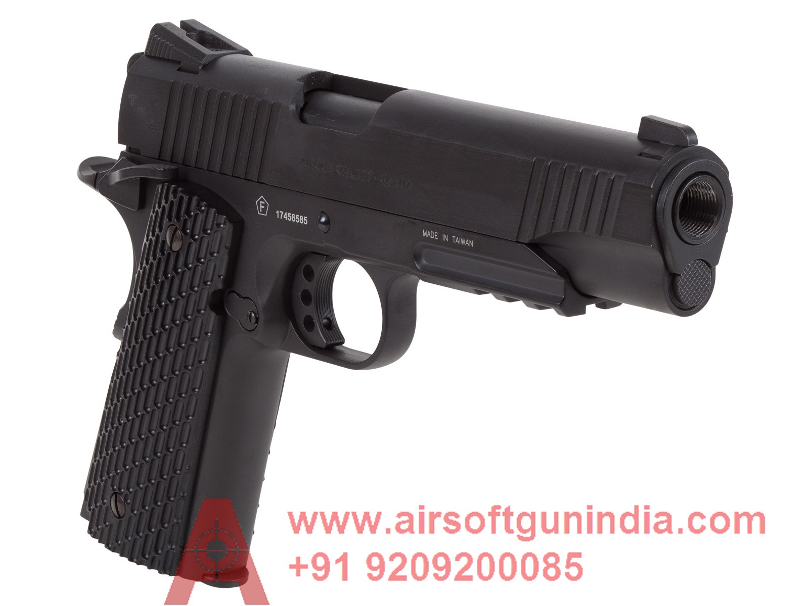SWISS ARMS SA 1911 TACTICAL CO2 BB PISTOL BLACK