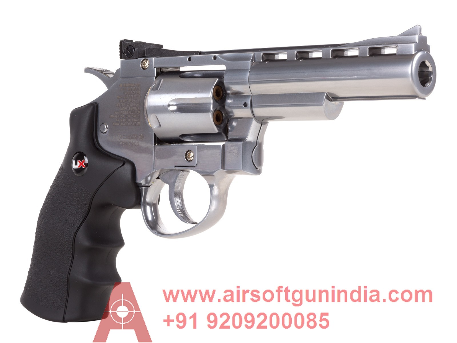 UMAREX UX357 CO2 METAL BB REVOLVER By Airsoft Gun India