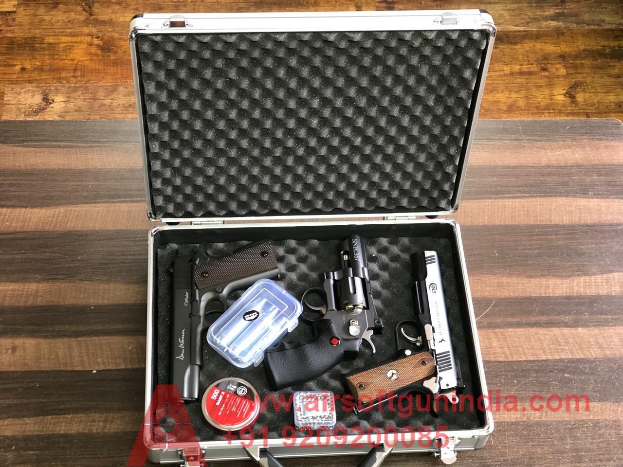 Airsoft Gun India Aluminium Gun Box For Multiple Gun